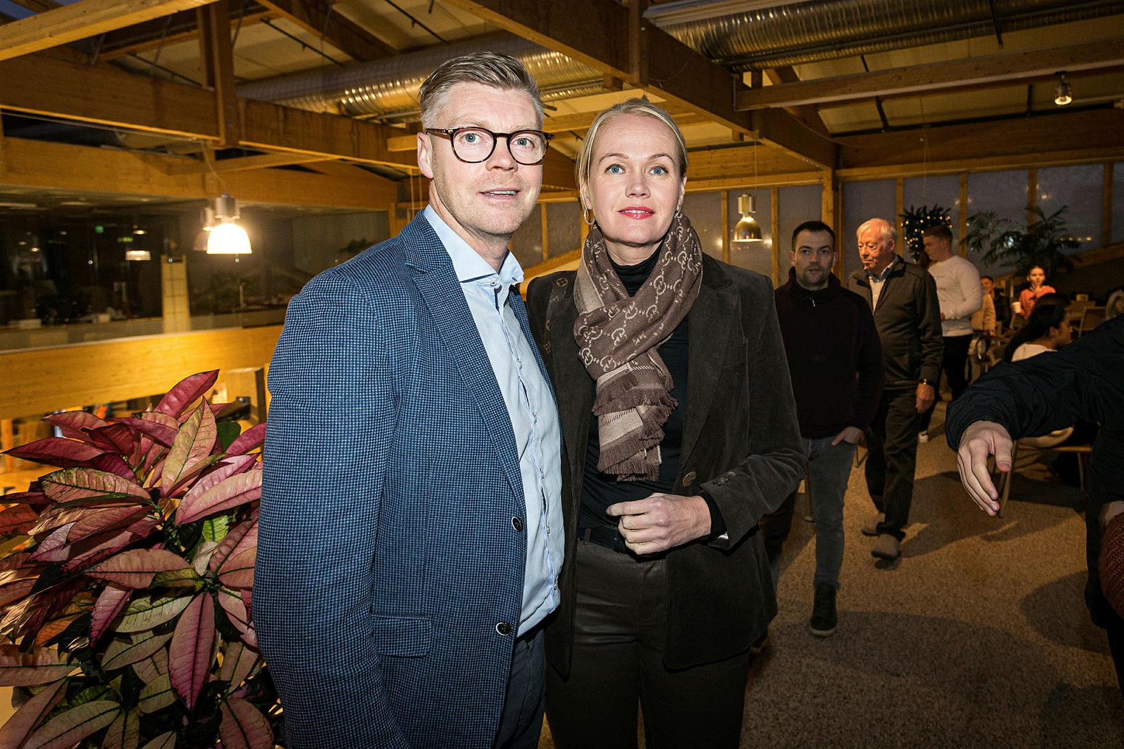 Örn Þór Alfreðsson og Stella María Óladóttir.
