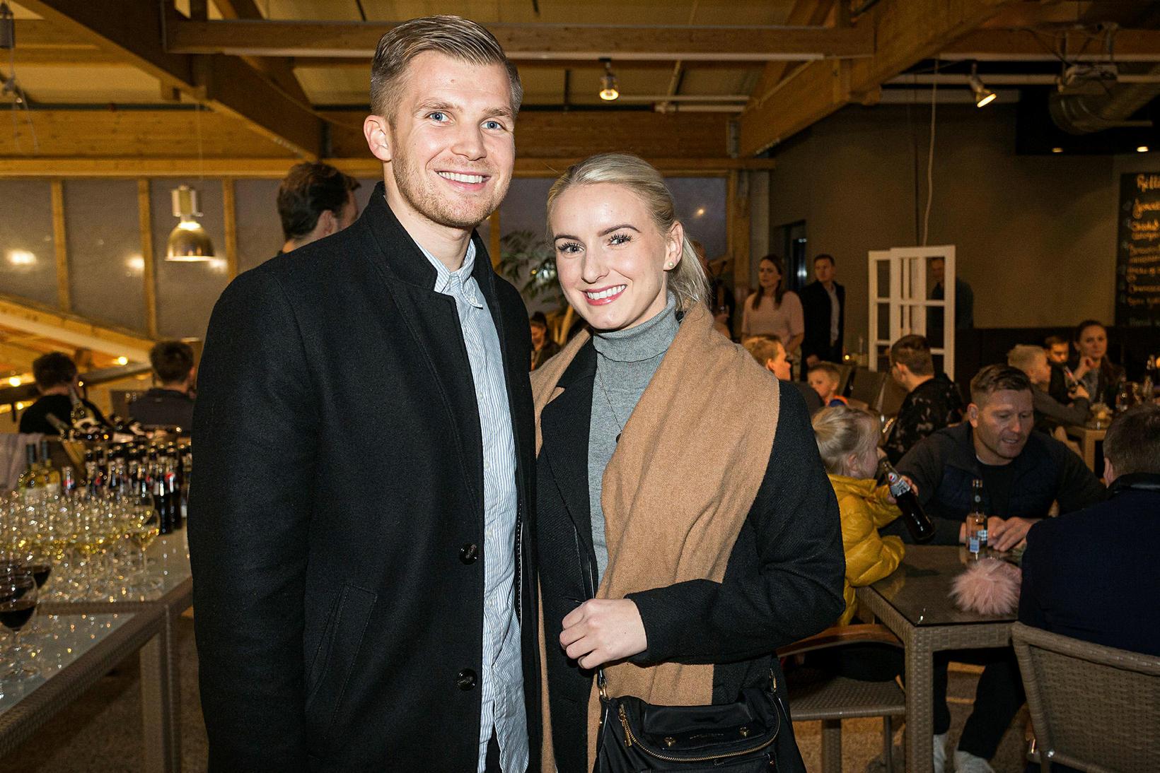 Hörður Bjarkason og Arna Fjóla Helgudóttir.