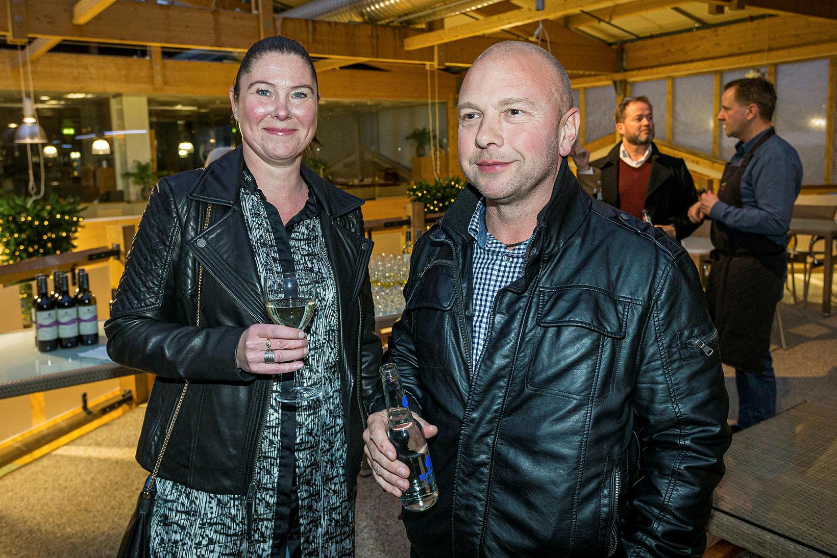 Hjördís Hilmarsdóttir og Tryggvi Rúnar Guðmundsson.