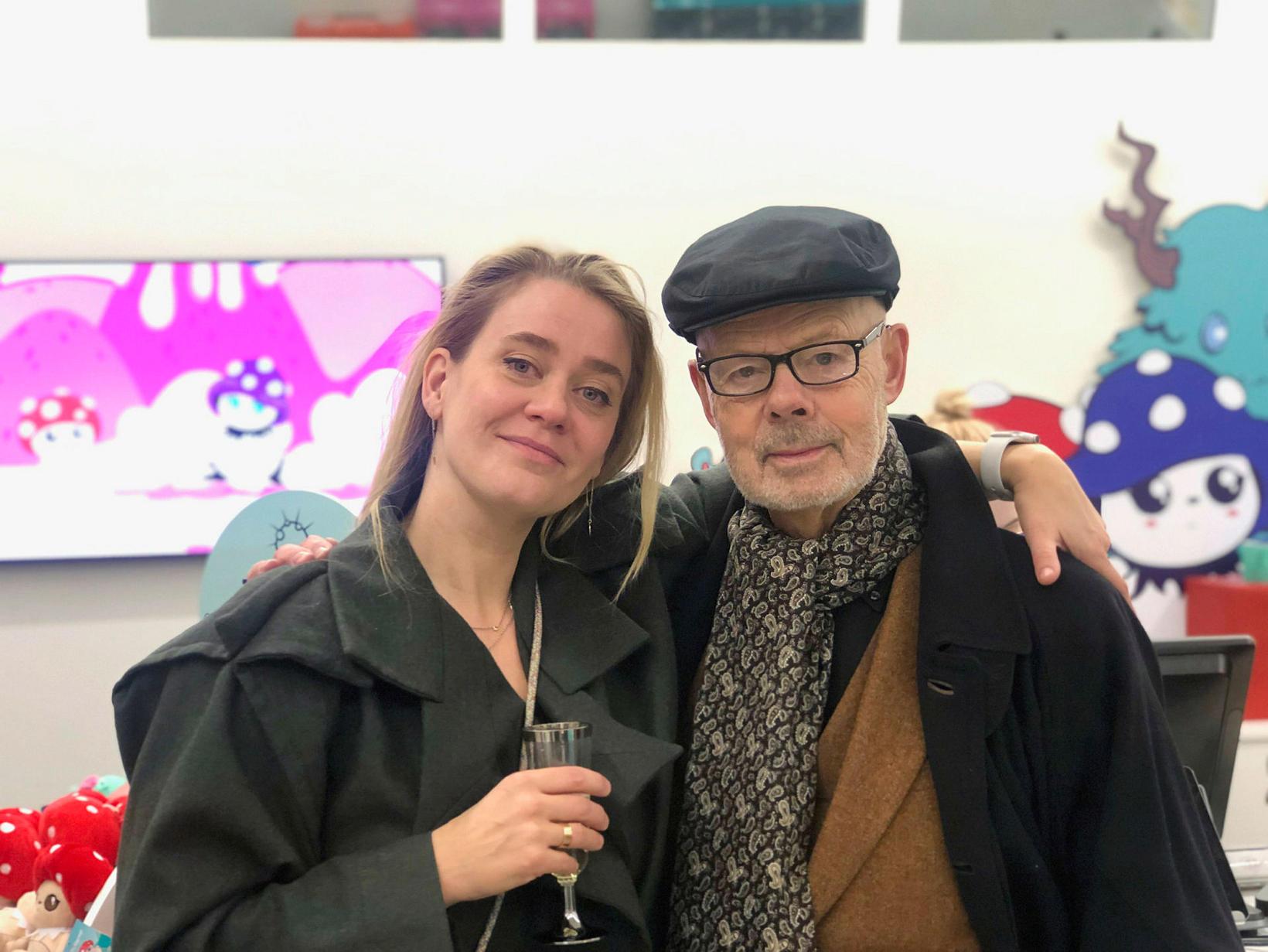 Sigrný Kolbeinsdóttir og Magnús Skúlason.