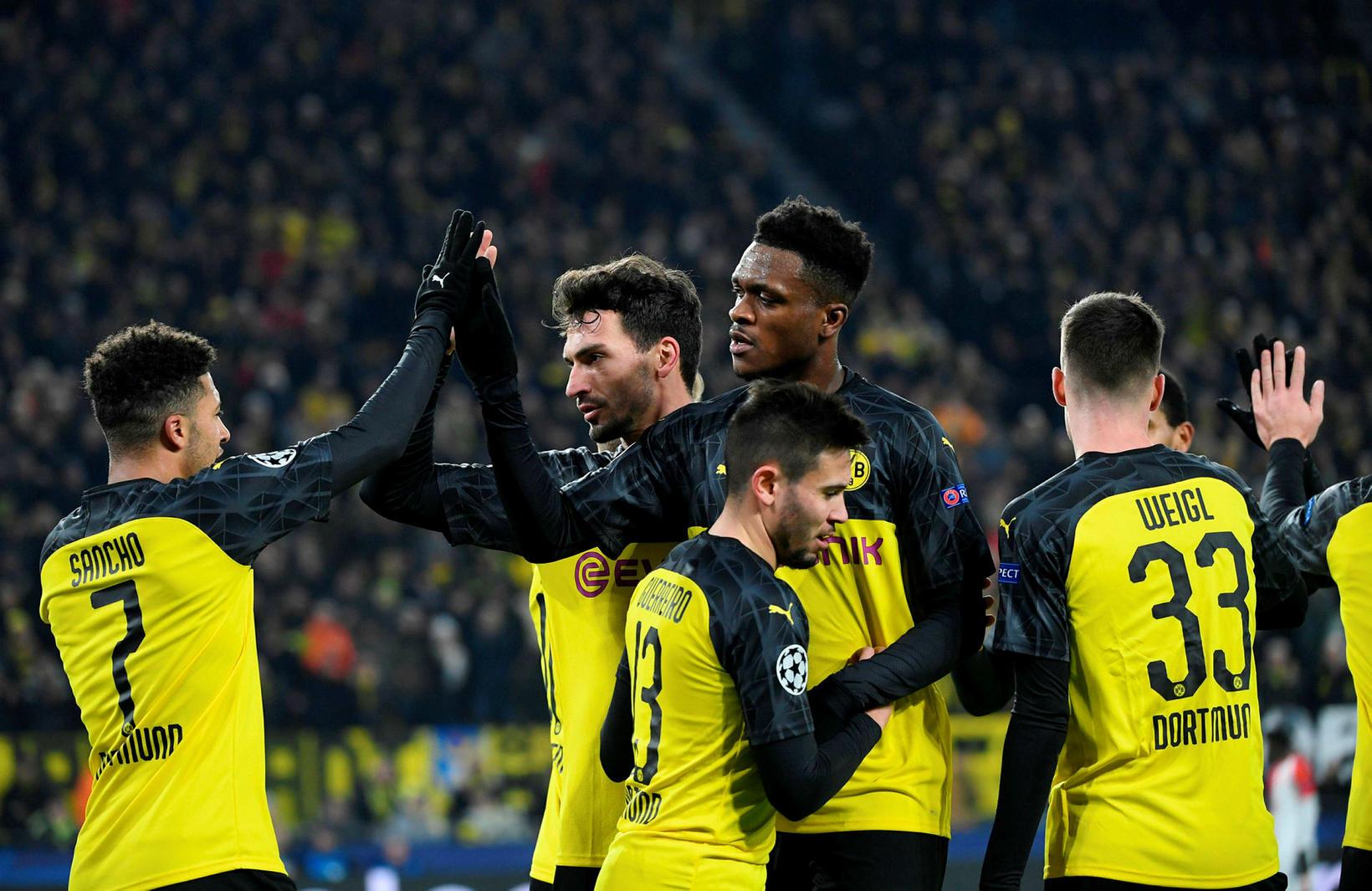 Dortmund vann góðan sigur og fer áfram.