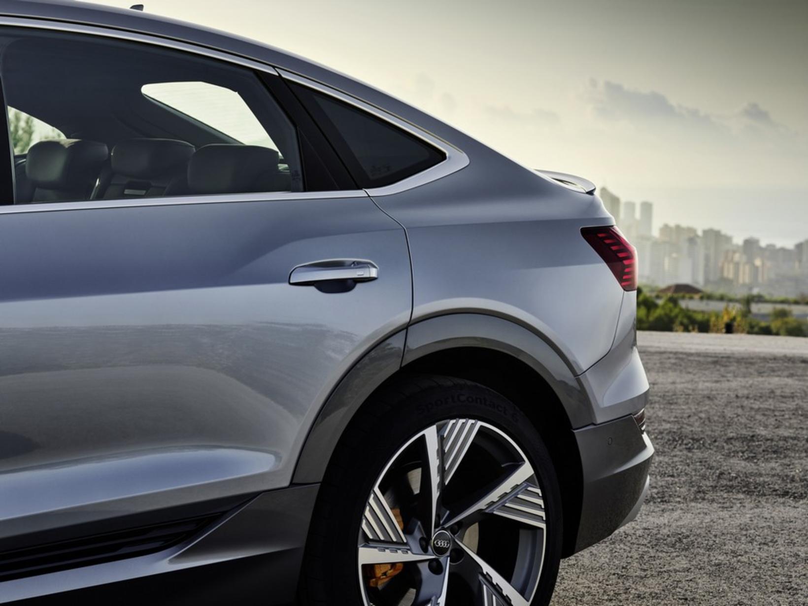 Audi e-tron Sportback.