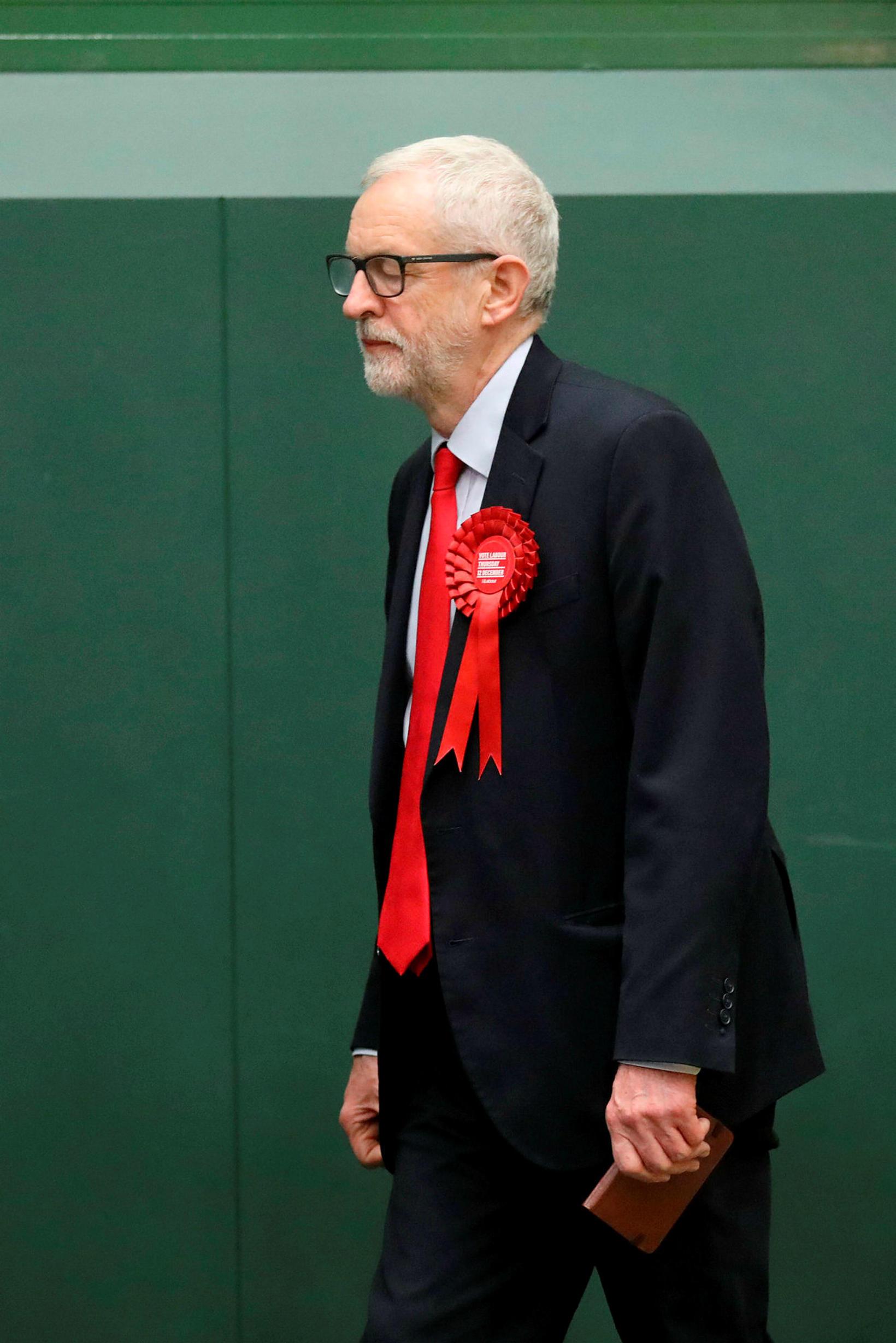 En formaður Verkamannaflokksins, Jeremy Corbyn, hefur enga ástæðu til að …