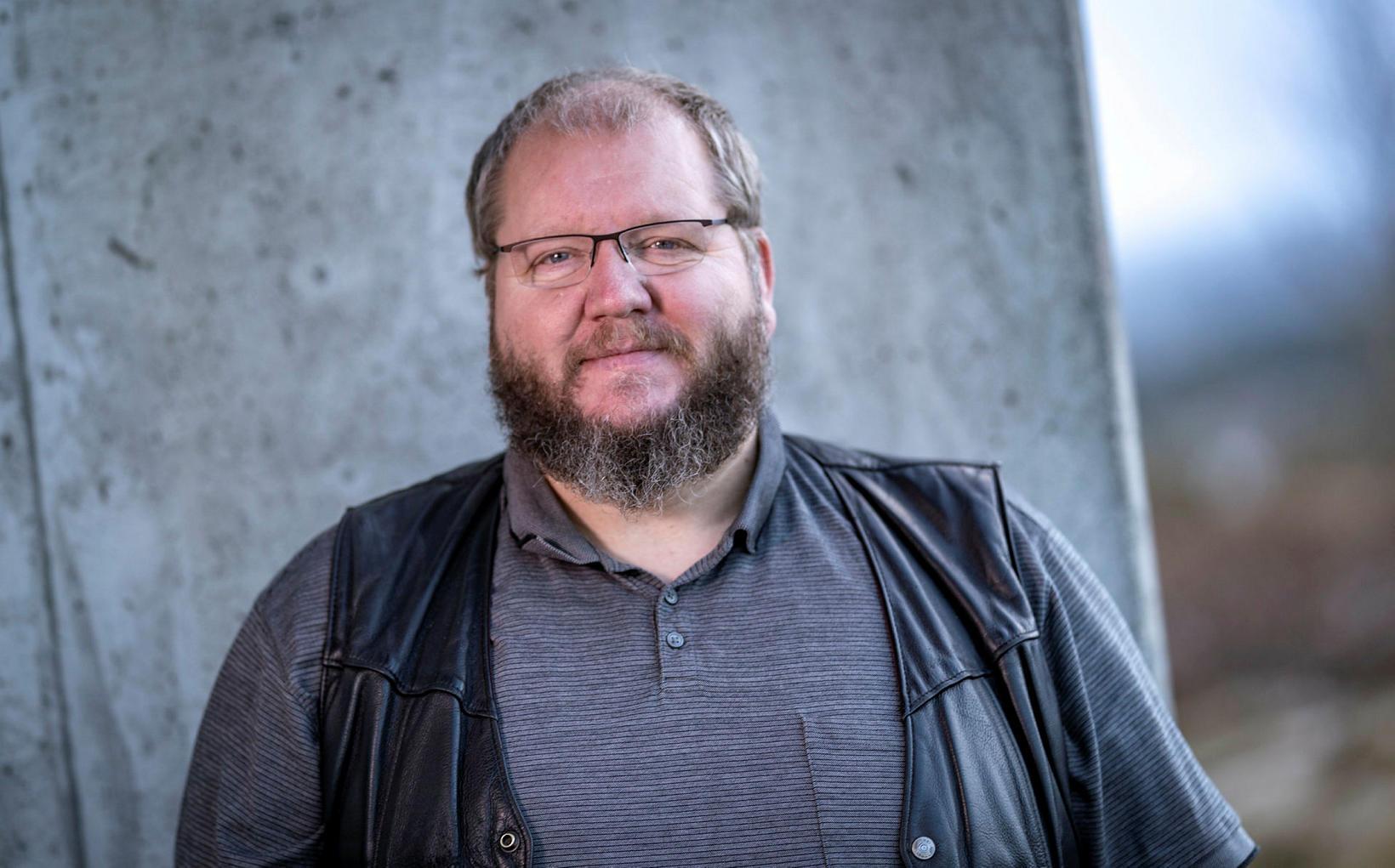 Guðmundur Fylkisson, aðalvarðstjóri hjá lögreglunni, hefur yfirumsjón með leit að …