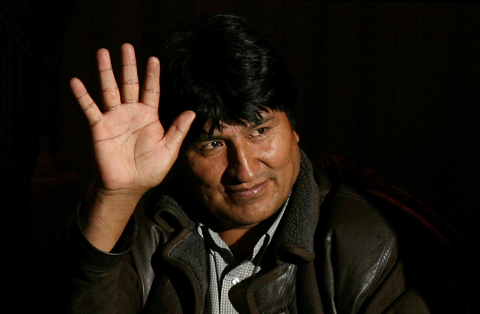 Evo Morales hefur hlotið hæli í Mexíkó.