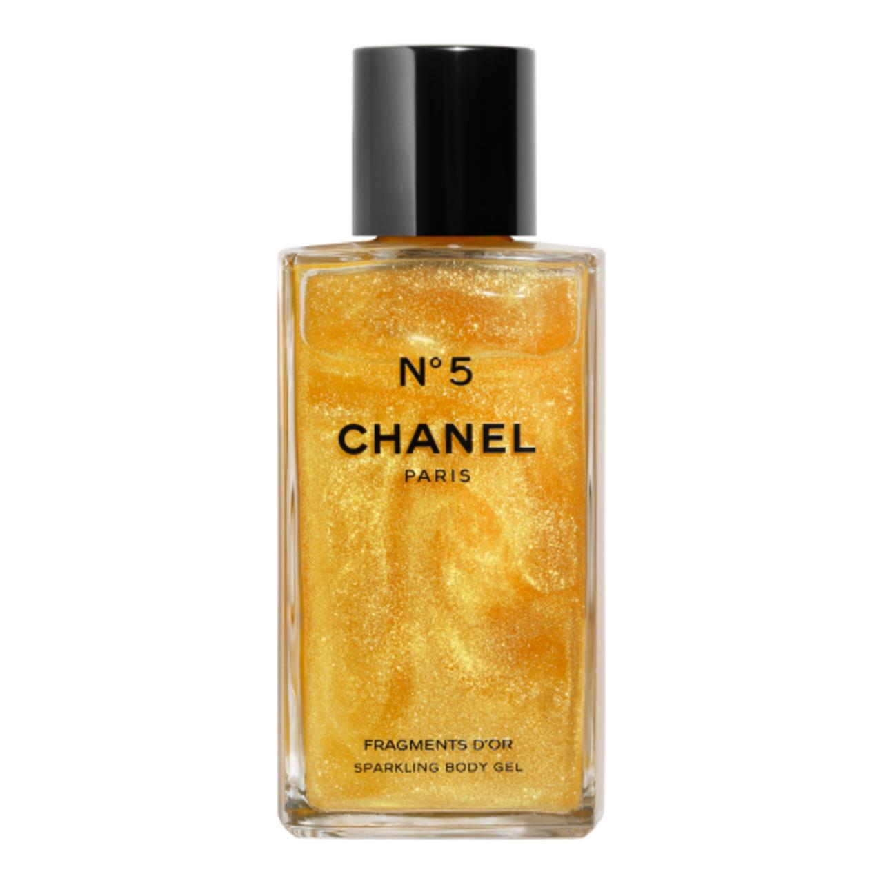 Chanel N°5 Fragments D'Or Sparkling Body Gel, 14.990 kr.