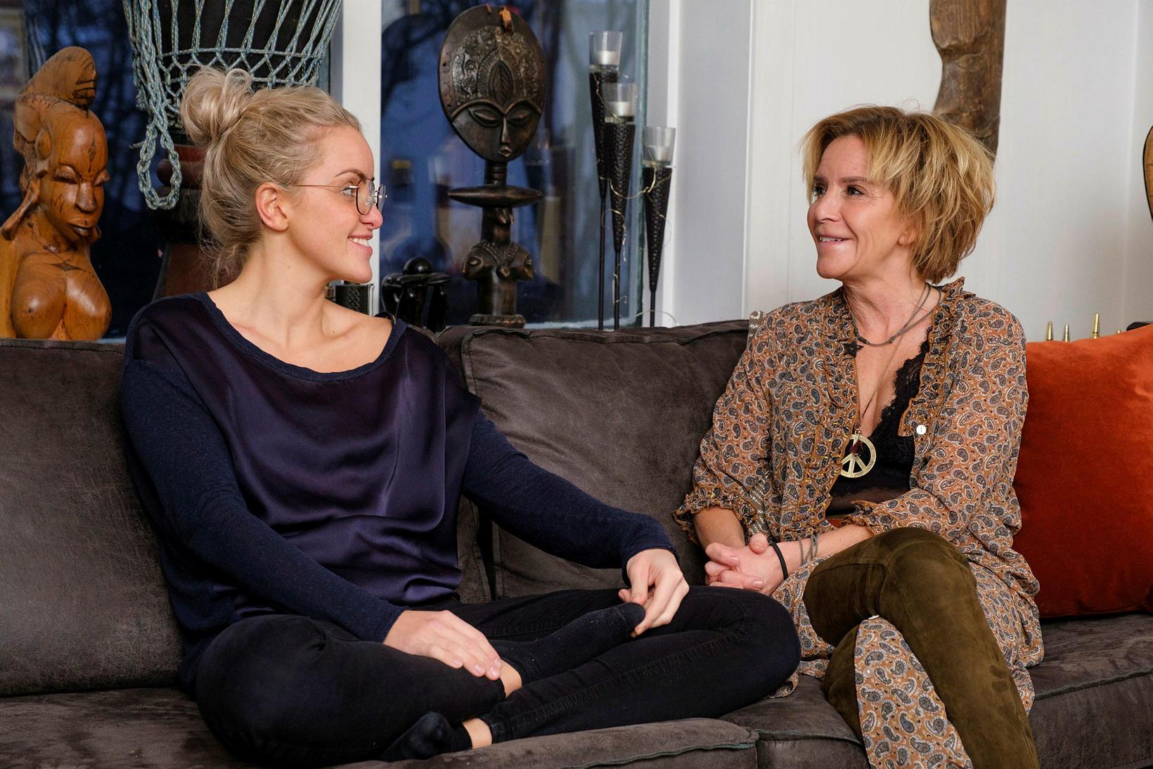 Mæðgurnar Sonja Símonardóttir og Inga Dóra Sigfúsdóttir.
