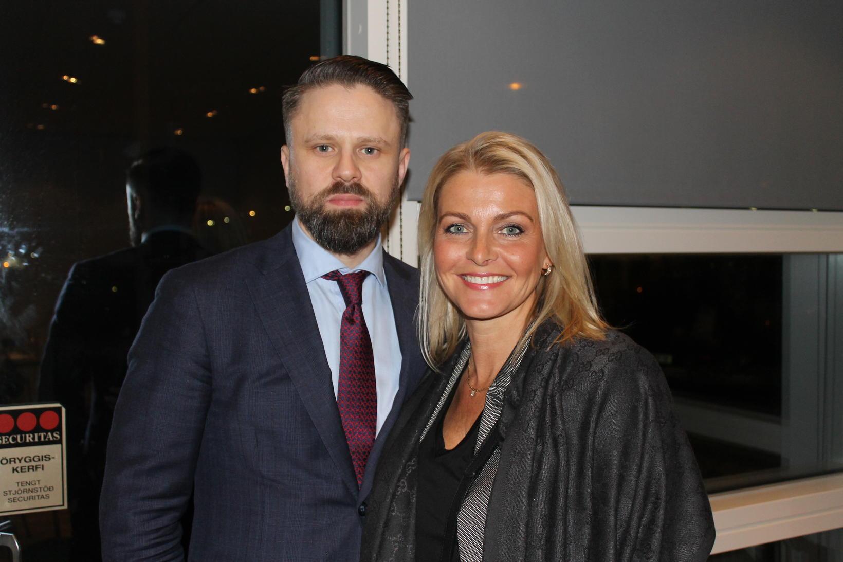 Sævar Þór Jónsson og Sigríður Nanna Jónsdóttir.