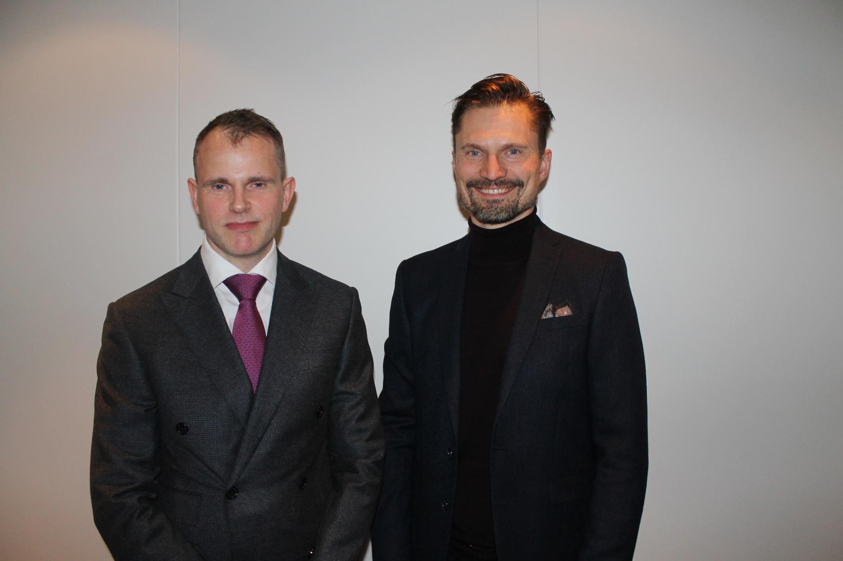 Lárus Lárusson og Elmar Svavarsson.