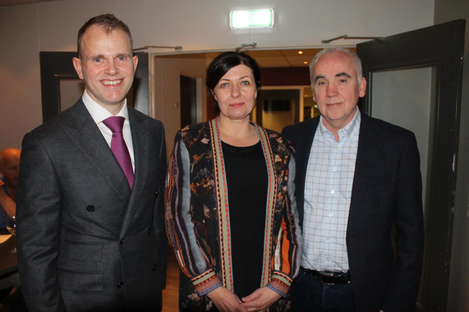 Lárus Lárusson, Guðfinna J. Guðmundsdóttir og Davíð Þór Björgvinsson.