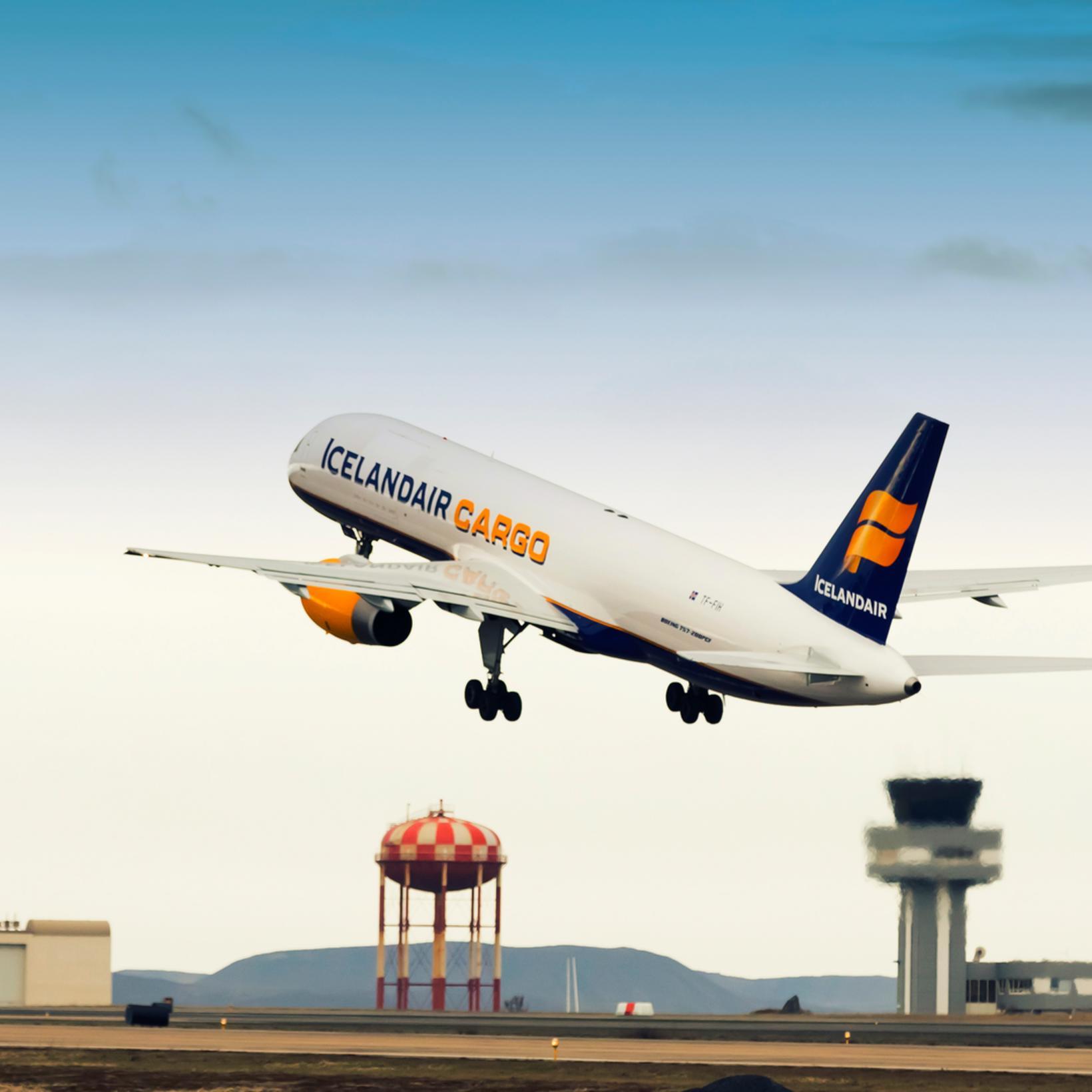 Vegna samningsins verður nokkur breyting á flugáætlun Icelandair Cargo til …