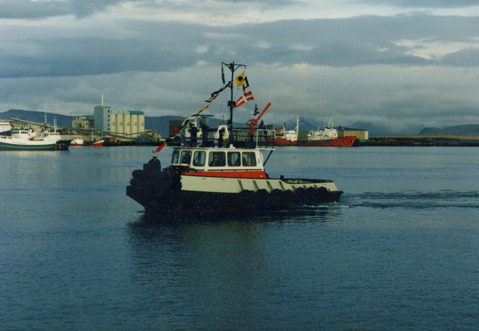 Magni þriðji var keyptur til landsins 1987.
