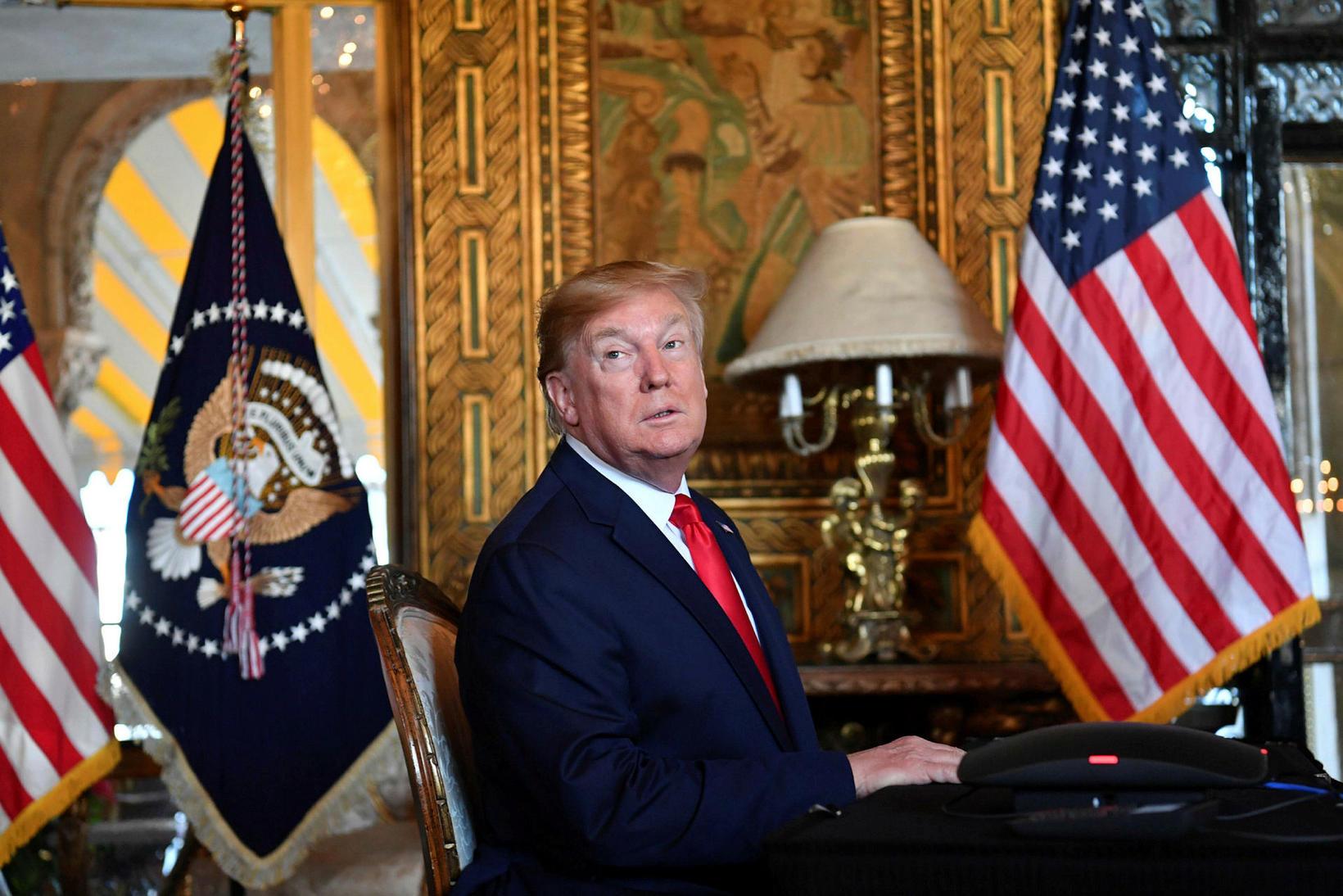 Donald Trump er óvenjulegasti Bandaríkjaforseti allra tíma.