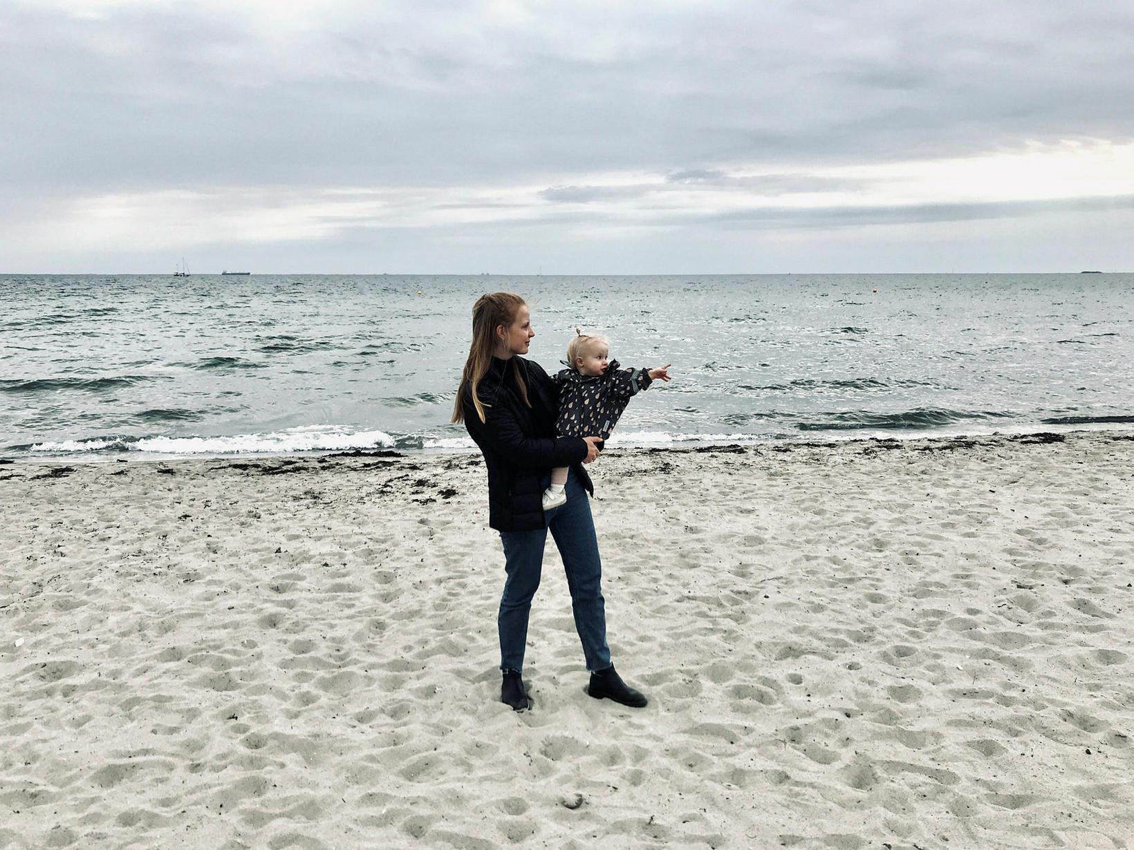 Sigrún mælir með ströndinni í Klampenborg við Bakken.