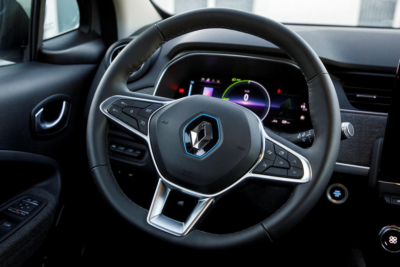 Rafbíllinn Renault Zoe