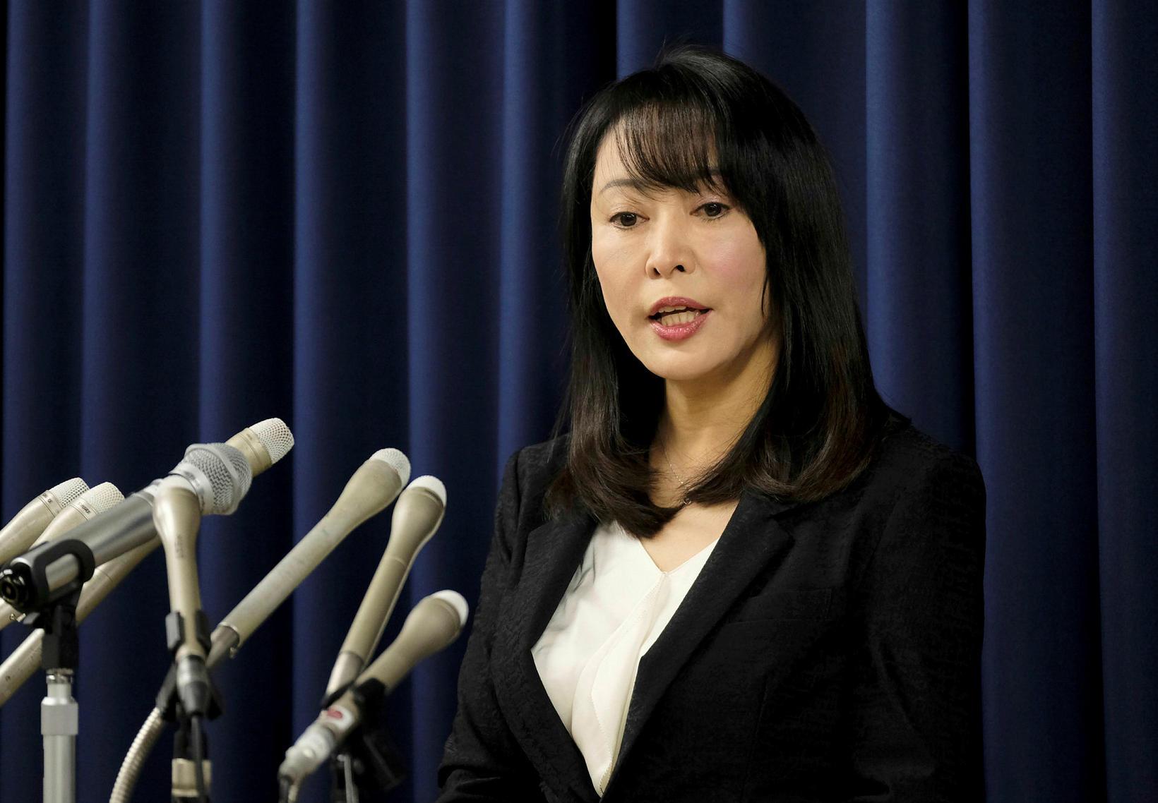 Masako Mori, dómsmálaráðherra Japans.