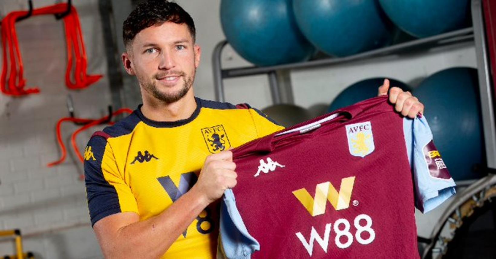 Danny Drinkwater er kominn til Aston Villa sem lánsmaður frá …
