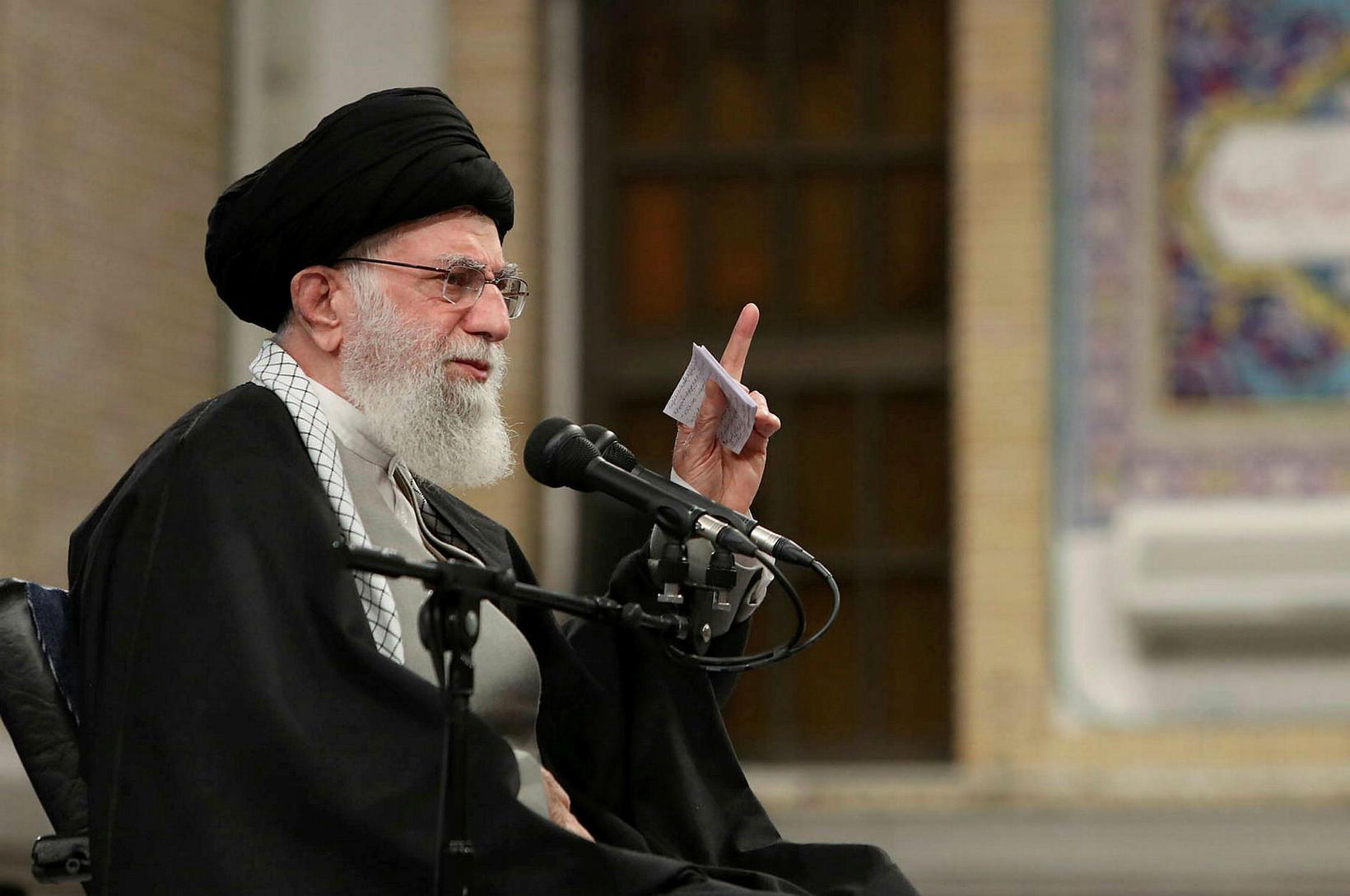 Æðstiklerkur Írans, Ali Khamenei.