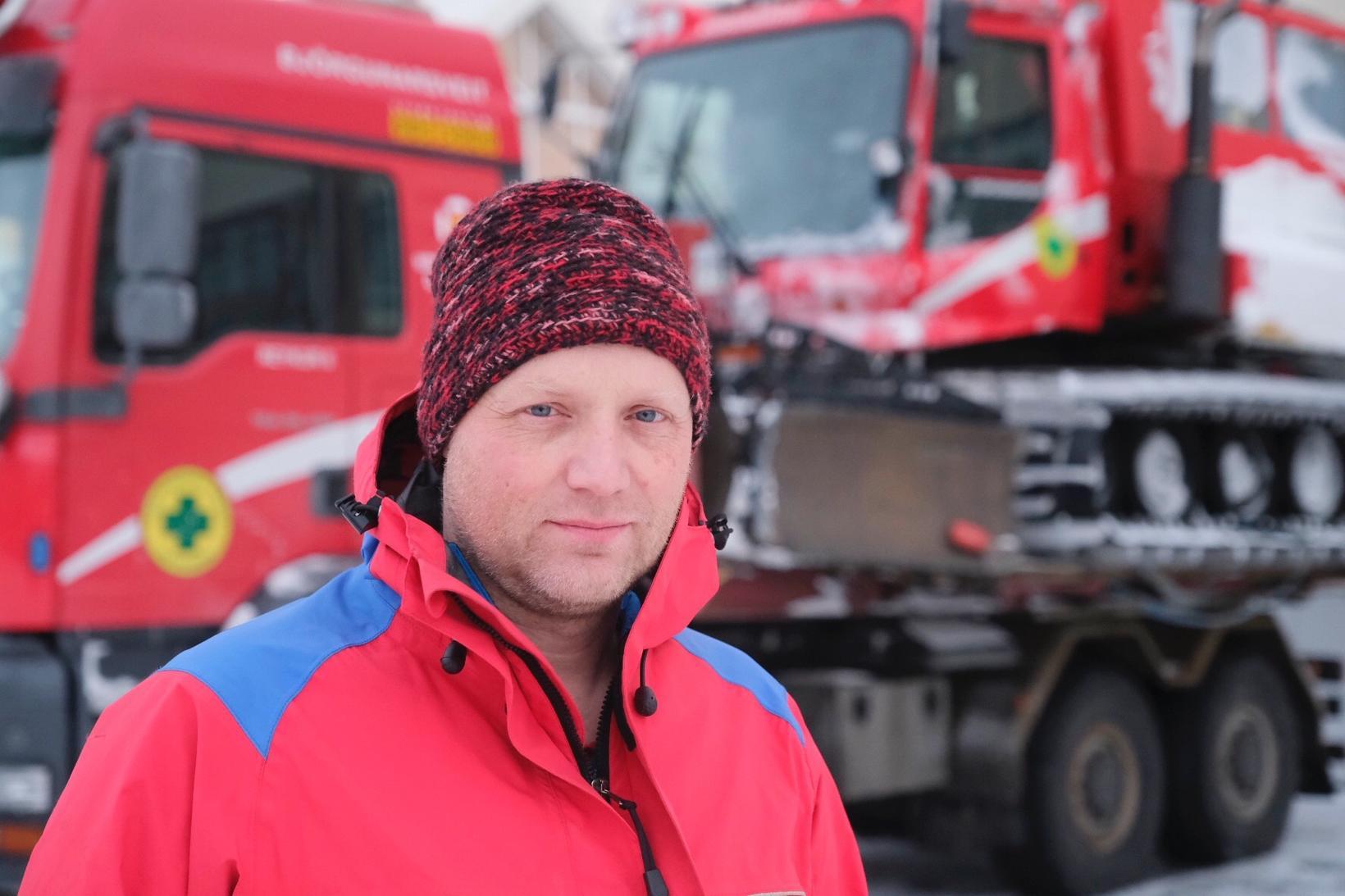 Oddur Valur Þórarinsson, sveitarstjóri HSSR.