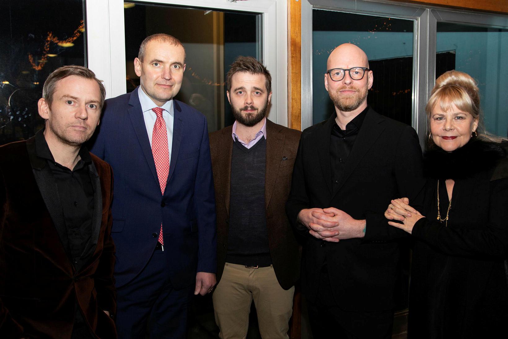 Hallgrímur Ólafsson, Guðni Th. Jóhannesson, Davíð Ólafsson, Ragnar Bragason, og …