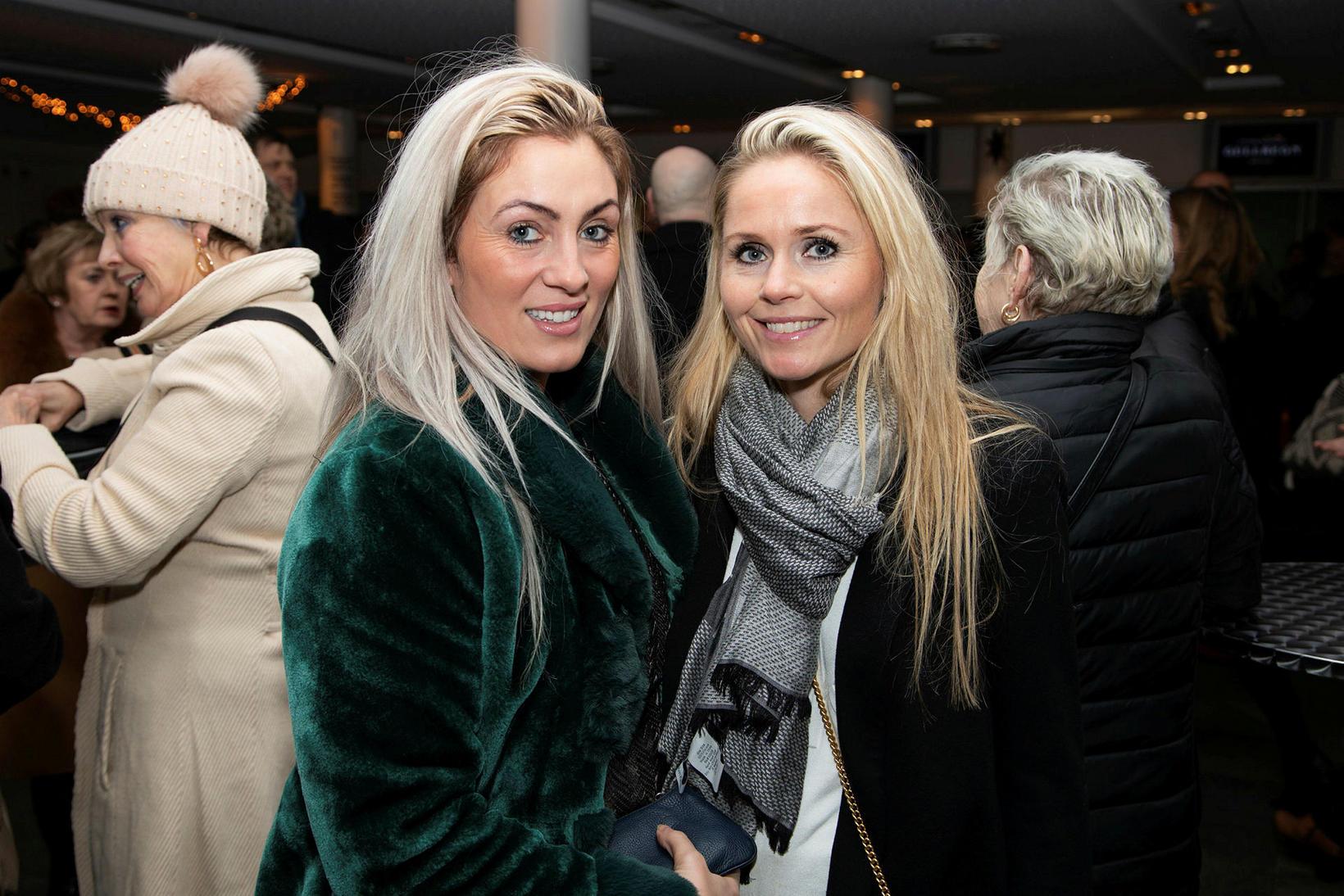 Hind Hannesdóttir og Eva Þórunn.