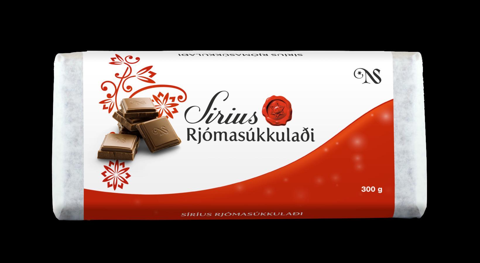 Um er að ræða þrjár tegundir Síríus súkkulaðis.