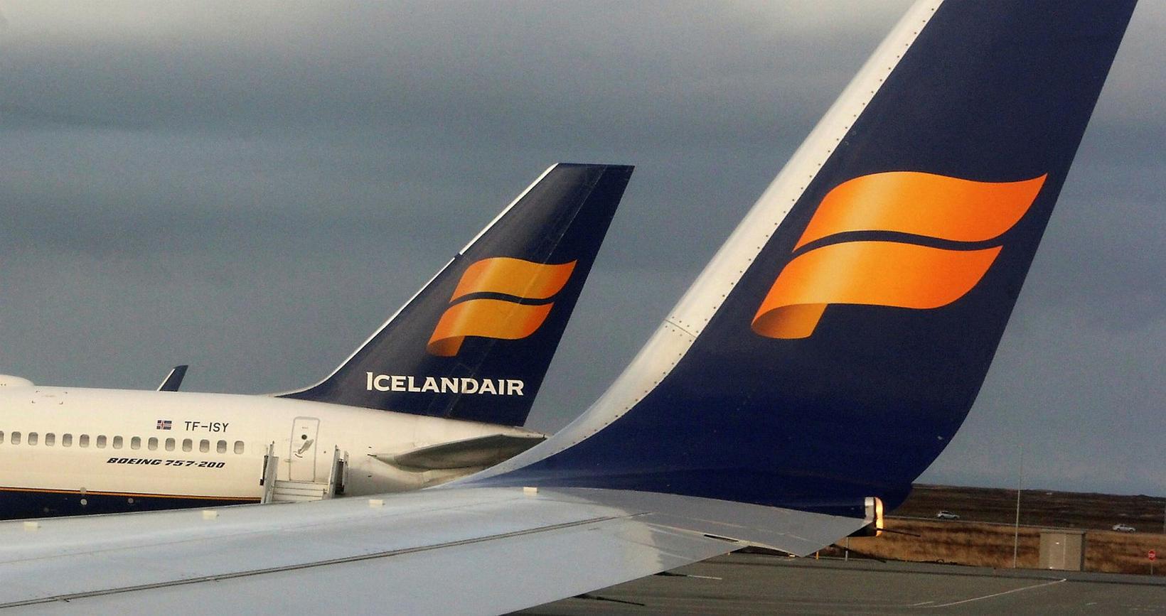 Icelandair flýgur nú aðeins um 5% af áætluðri flugáætlun sinni.