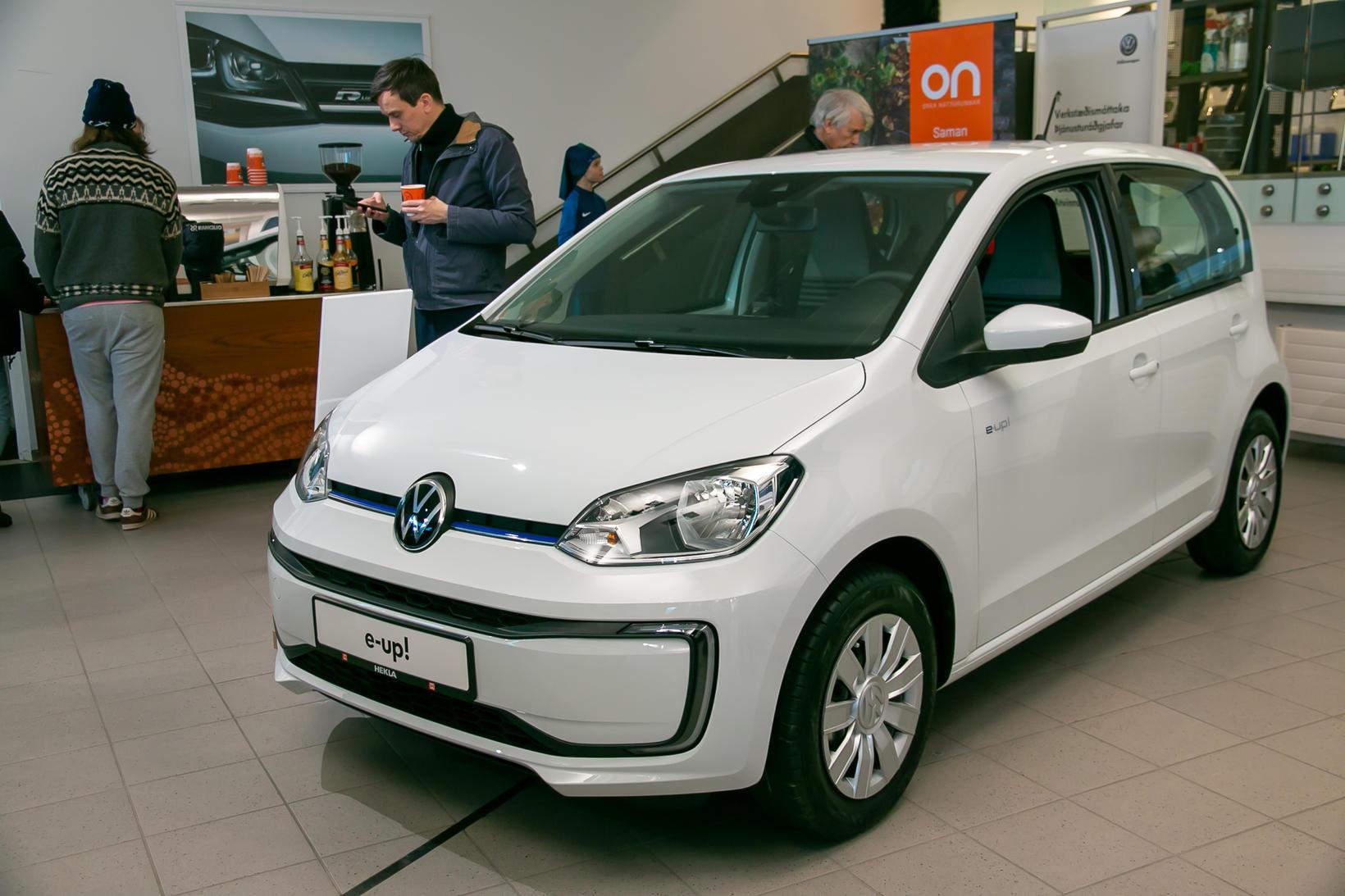 VW e-up! á stórsýningu Heklu um nýliðna helgi.