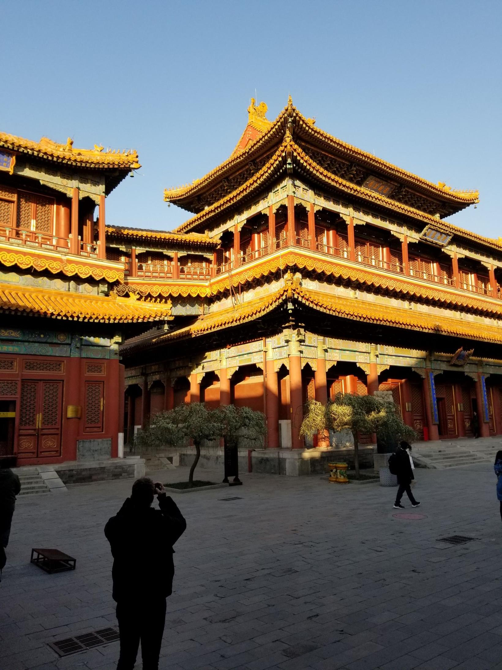 Lama-hofið í hjarta Peking.