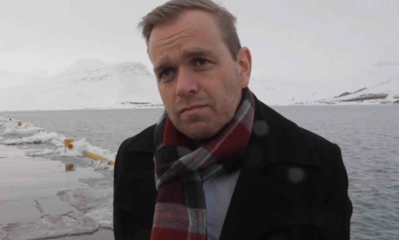 Guðmundur Gunnarsson bæjarstjóri.