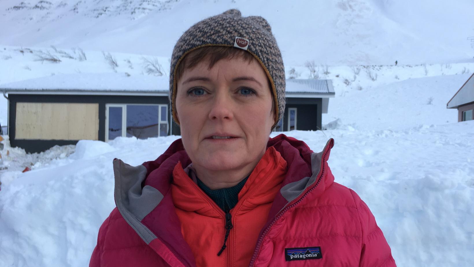 Hulda Ragnheiður Árnadóttir, framkvæmdastjóri Náttúruhamfaratryggingu Íslands.
