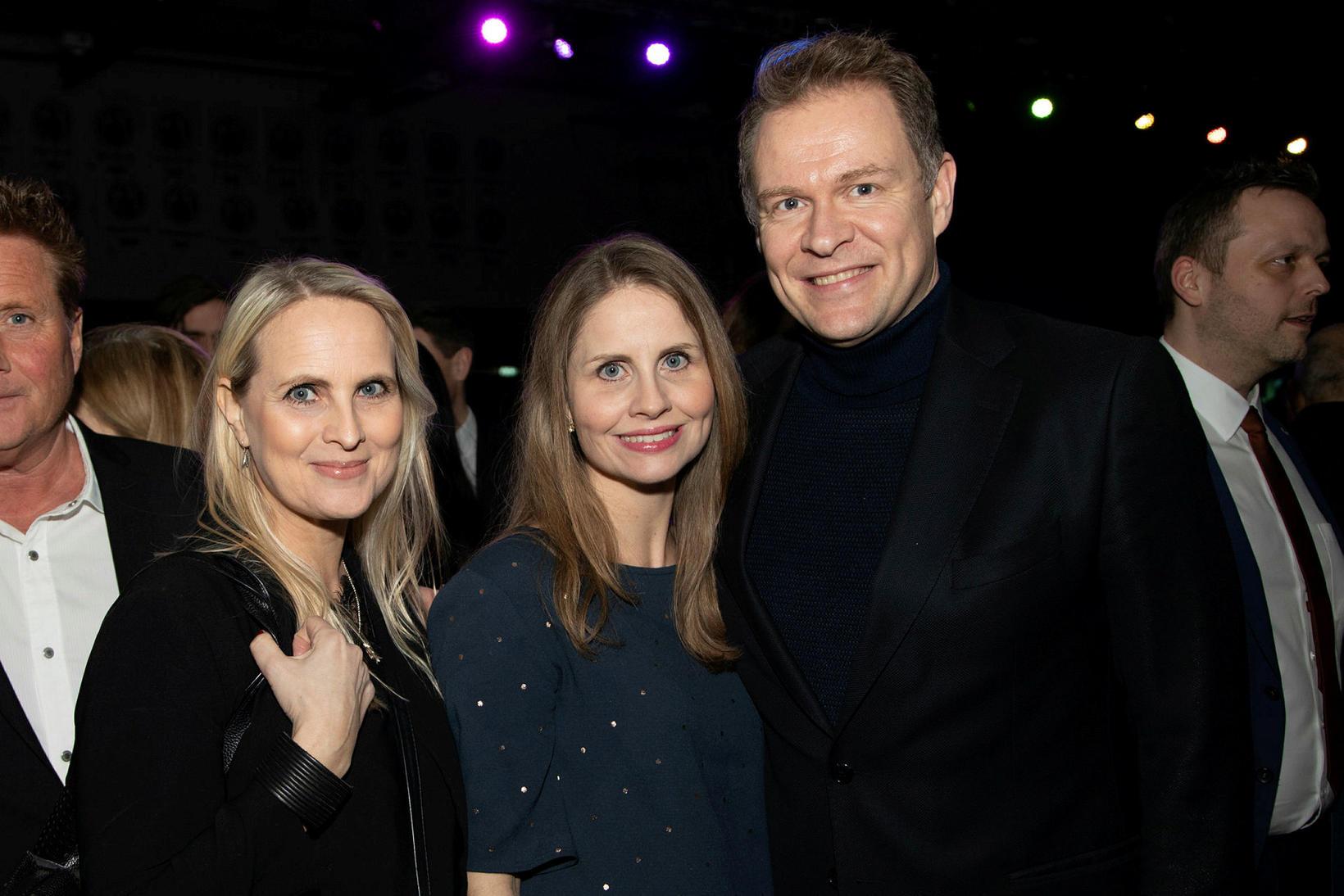 Ester Andrésdóttir, Ásta Andrésdóttir og Örn Úlfar Sævarsson.