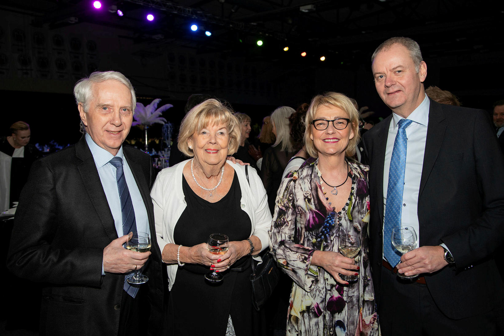 Gunnar Felixsson, Hilda Guðmundsdóttir, Dóra Sigurðardóttir og Guðmundur Gunnarsson.