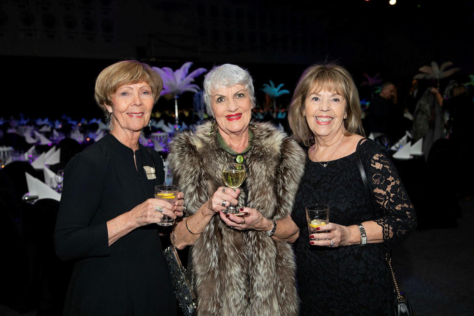 Erna Franklin, Elísabet Guðmundsdóttir og Björk Aðalsteinsdóttir.