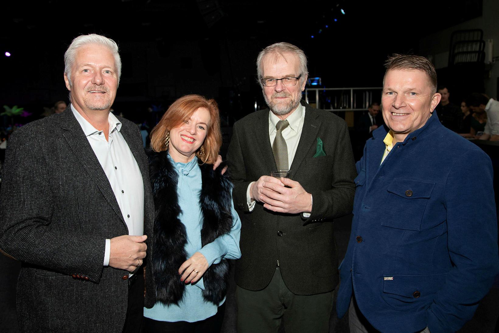 Jan Tomsen, Kristín Birgisdóttir, Árni Hermannsson og Heiðar Sigurðsson.
