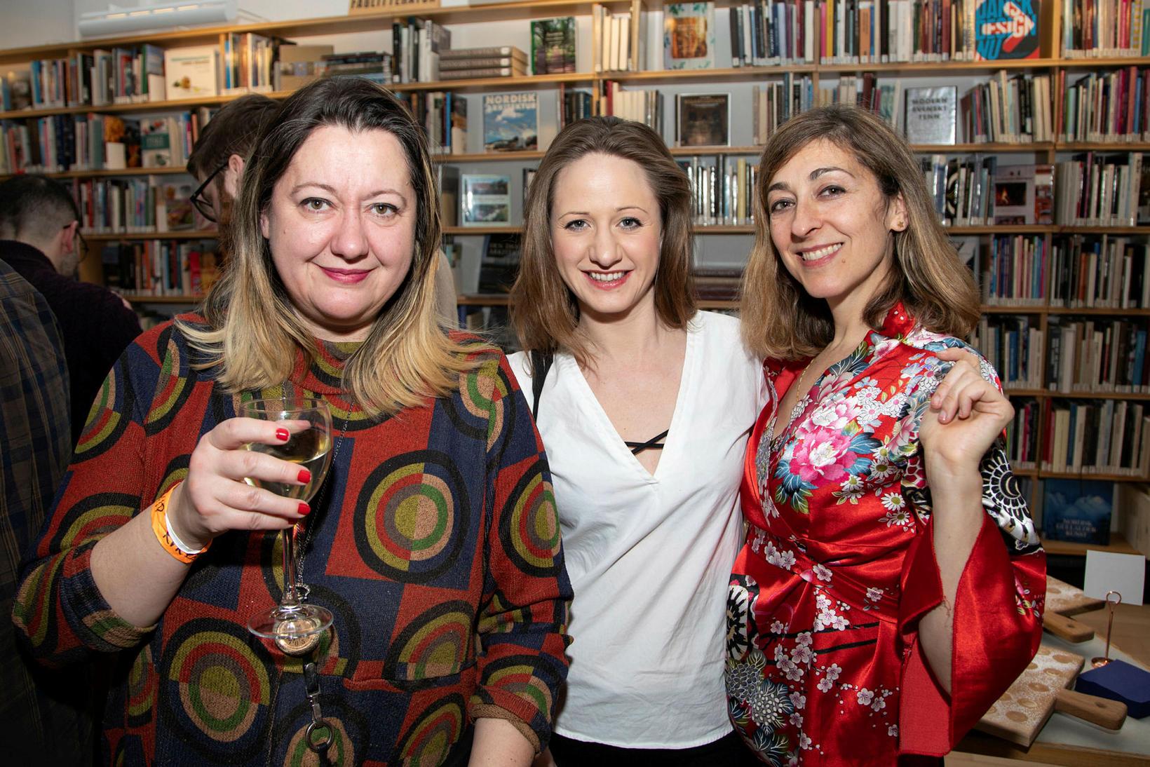 Marina D. Richer, Nara Walker, Alexía Muinos Ruiz.