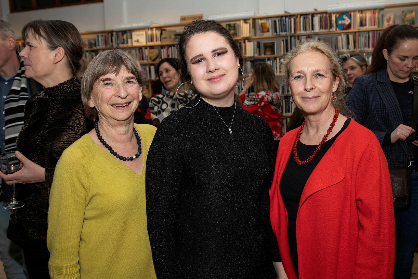 Aud Lise Nordheim, Katrín Joensen-Næs og Ann-Sofie Stude.