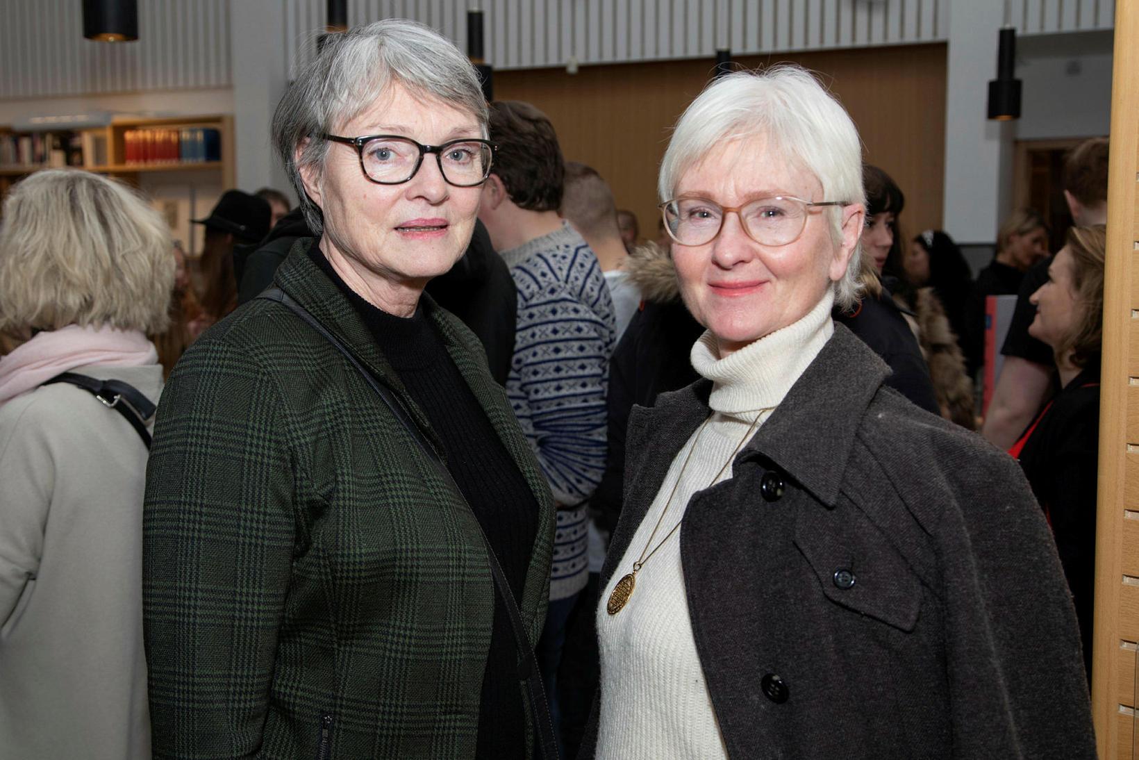 Margrét Halldóra Ingadóttir og Hjördís María Ingadóttir.