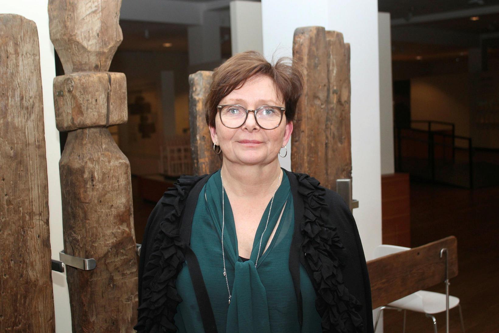 Margrét Hallgrímsdóttir, director of the National Museum of Iceland.