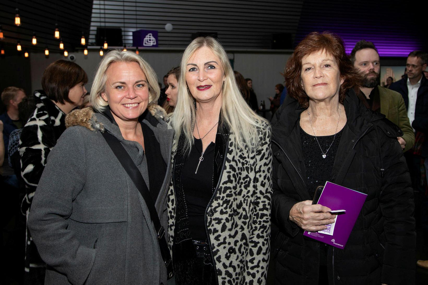 Hildur Harðardóttir, Agnes Lily Guðbergs og Ásdís Lilja Sveinbjörns.