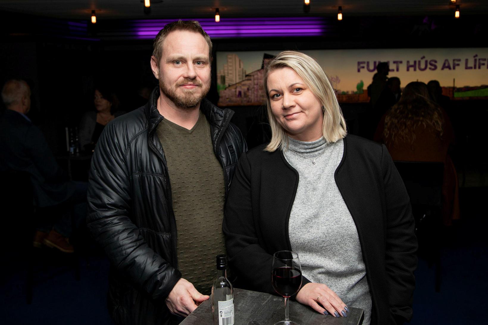Hafþór Sæmundsson og Hrönn Harðardóttir.