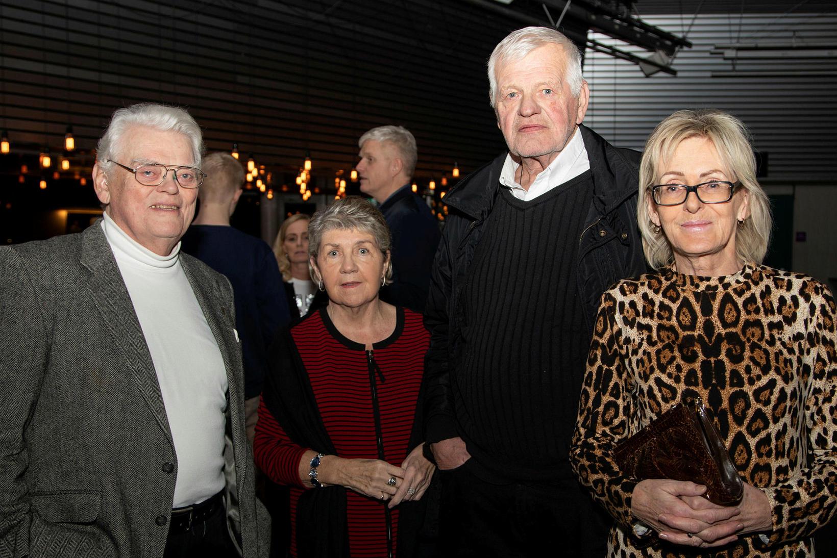 Baldvin Einarsson, Guðrún Ingibersdóttir, Hreinn Halldórsson og Katrín Sól.