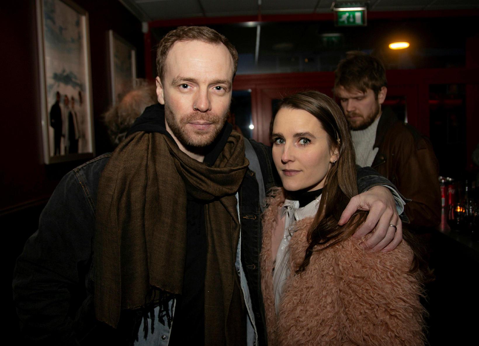 Davíð Guðbrandsson og Heiðbjört Salma Sigbjartsdóttir.
