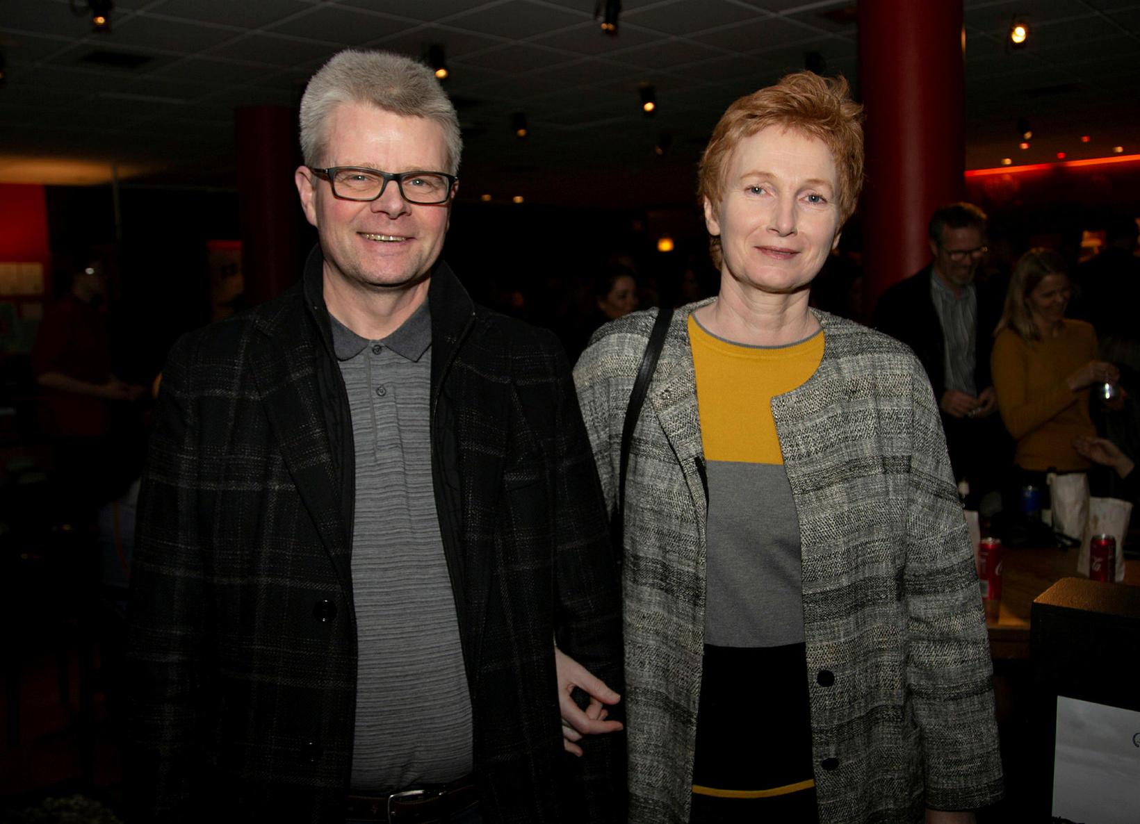 Einar Gunnarsson og Elísabet Þórðardóttir.
