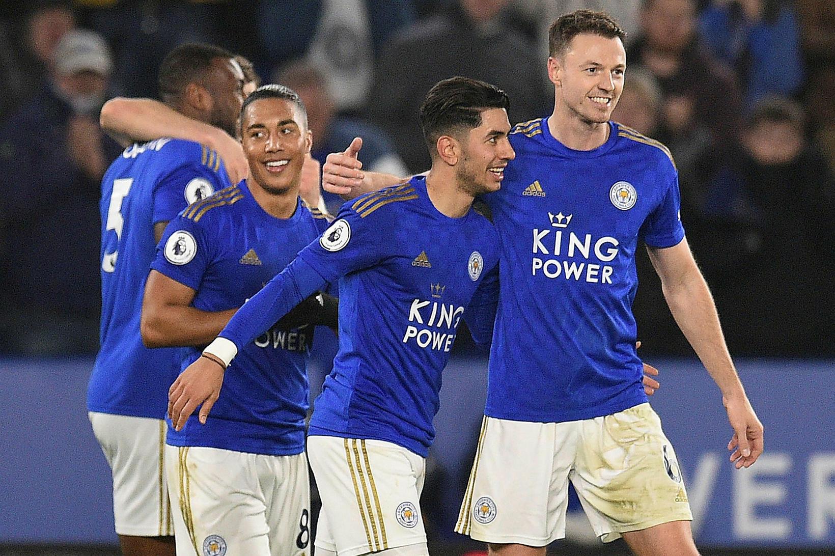 Leicester vann góðan sigur á West Ham.
