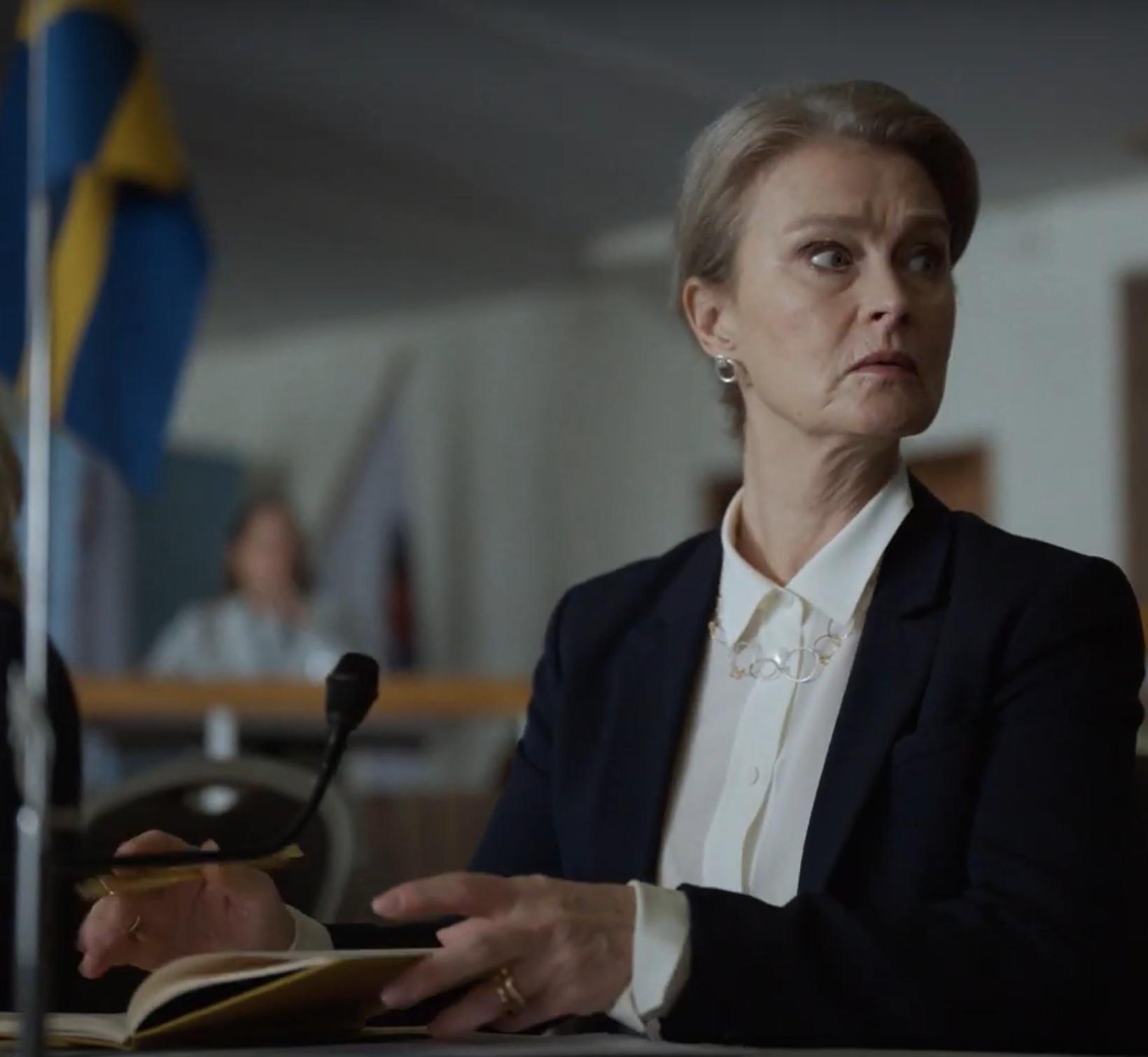 Lena Endre leikur aðalhlutverk í þáttunum