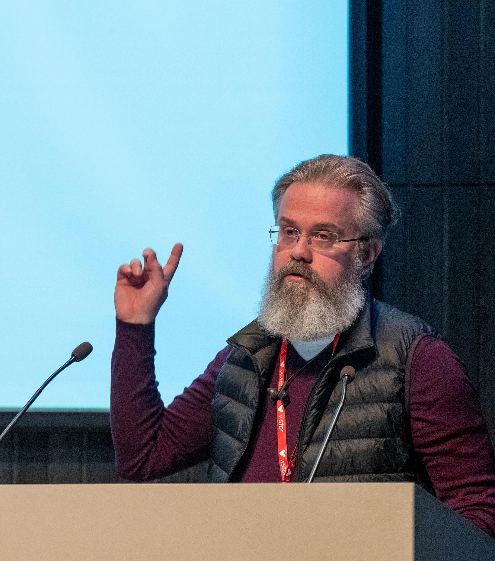 Ingi Steinar Ingason, teymisstjóri Miðstöðvar rafrænnar sjúkrarskrár hjá embætti landlæknis.