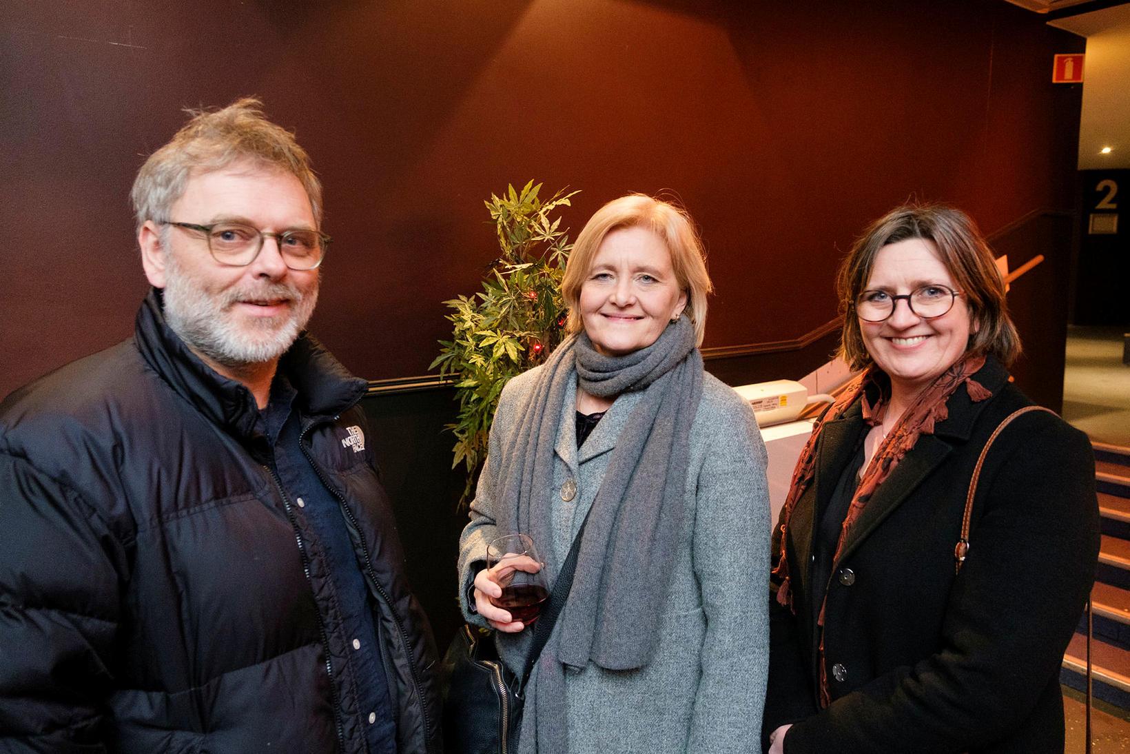 Erling Jóhannesson, Sigríður Heimisdóttir og Ingibjörg Þórisdóttir.