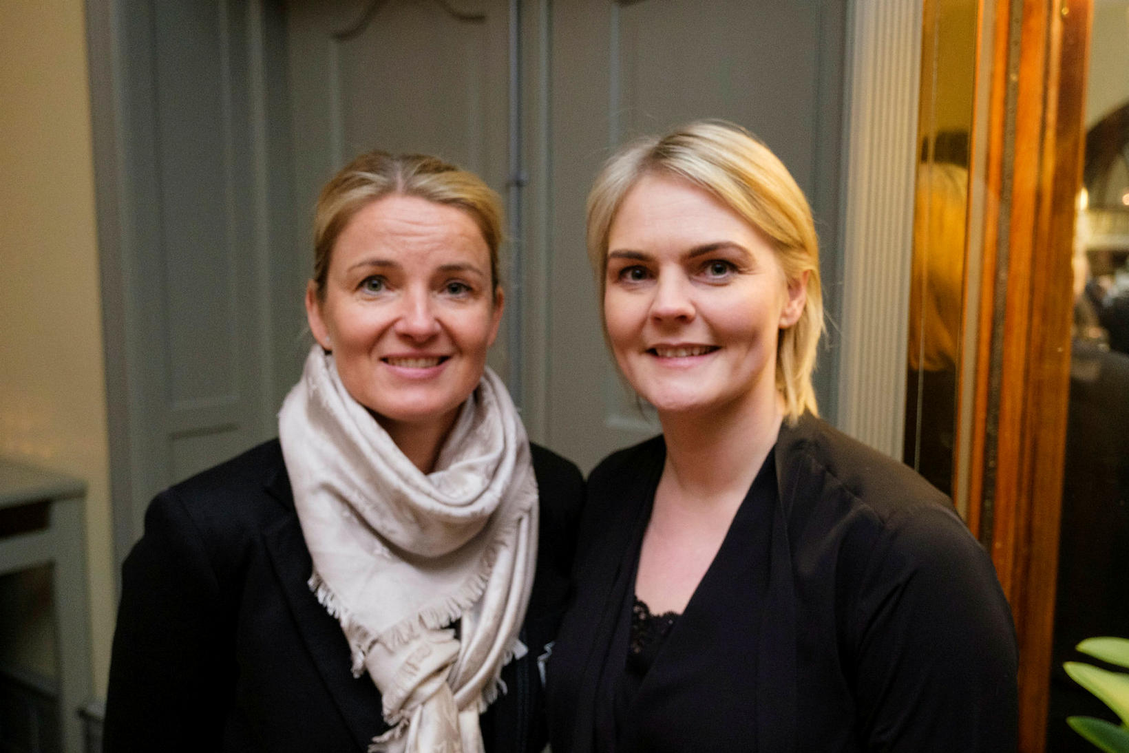 Anna Kristín Björnsdóttir og Elísabet Árnadóttir.