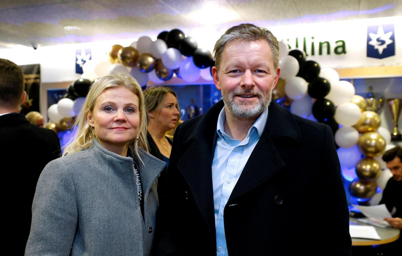 Lilja Karlsdóttir og Þorsteinn Víglundsson.